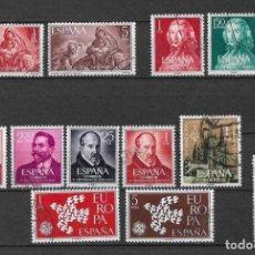 Sellos: ESPAÑA 1961 LOTE SERIES COMPLETAS - 3/35. Lote 158835674