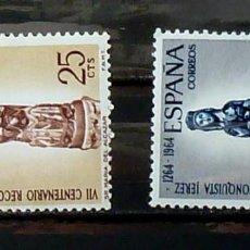 Sellos: SELLOS ESPAÑA 1964- FOTO 881, COMPLETA NUEVA CON FIJASELLOS. Lote 159104502