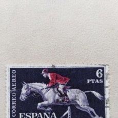 Sellos: SELLO ESPAÑA EDIFIL 1318 HIPICA. Lote 159146102