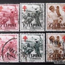 Timbres: 1103-05, DOS SERIES, USADAS. PRO TUBERCULOSOS.. Lote 159221102