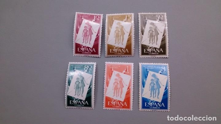 ESPAÑA - 1956 - EDIFIL 1200/1205 - SERIE COMPLETA - MNH** - NUEVOS - VALOR CATALOGO 30€. (Sellos - España - II Centenario De 1.950 a 1.975 - Nuevos)