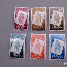 Sellos: ESPAÑA - 1956 - EDIFIL 1200/1205 - SERIE COMPLETA - MNH** - NUEVOS - VALOR CATALOGO 30€.. Lote 159413138