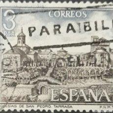 Sellos: SELLO ESPAÑA EDIFIL N°2268 IGLESIA DE SAN PEDRO TERRASSA. Lote 160629138