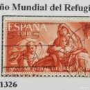Sellos: SELLO AÑO MUNDIAL REFUGIADO 1961, NUM 1326. Lote 160736230