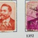 Sellos: SELLOS CENT. VÁZQUEZ DE MELLA, 1961 NUM 1351 Y 1352. Lote 160740896