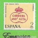 Sellos: EDIFIL 2092. DÍA MUNDIAL DEL SELLO. (1972).** NUEVO SIN FIJASELLOS.. Lote 161085510