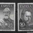 Sellos: ESPAÑA. EDIFIL 1124/25*. Lote 161117554