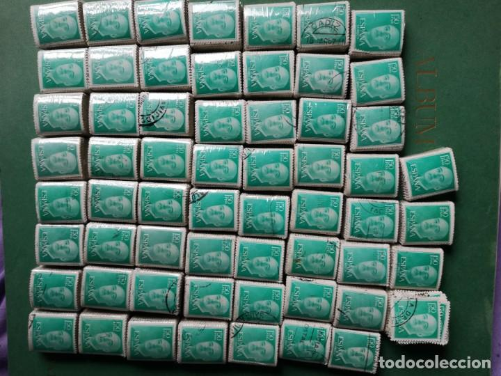 MÁS 5500 SELLOS USADOS FRANCO 1956 (Sellos - España - II Centenario De 1.950 a 1.975 - Usados)