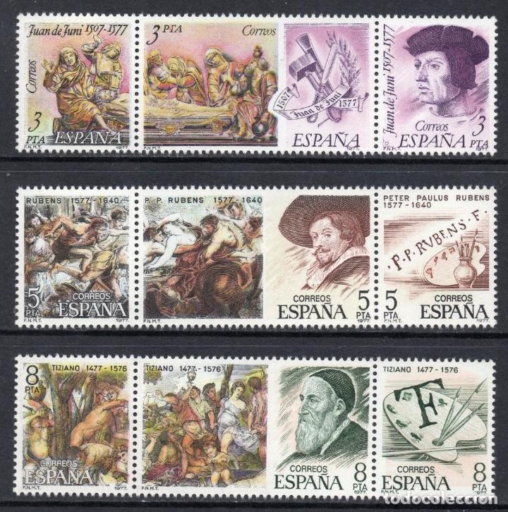 ESPAÑA 1978 ** NUEVOS EDIFIL 2460/2468 - 5/27 (Sellos - España - II Centenario De 1.950 a 1.975 - Nuevos)