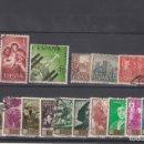 Sellos: ESPAÑA 1238/53 USADA, AÑO 1959 COMPUESTO POR 16 SELLOS. Lote 165121914