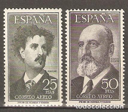 1955 FORTUNY Y TORRES QUEVEDO EDIFIL 1164/5** SIN FIJASELLOS (Sellos - España - II Centenario De 1.950 a 1.975 - Nuevos)