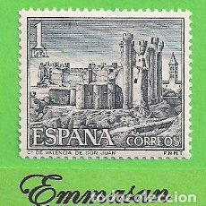 Timbres: EDIFIL 1977. CASTILLOS DE ESPAÑA - VALENCIA DE DON JUAN, LEÓN. (1970).** NUEVO SIN FIJASELLOS.. Lote 165363306