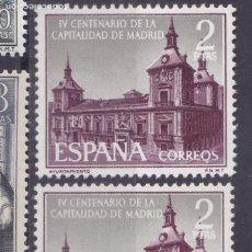 Sellos: XX2- CAPITALIDAD MADRID 2 PTAS VARIEDAD ** SIN FIJASELLOS. Lote 165414642