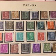 Sellos: SELLOS FRANCO 1955 EDIFIL 1143/63 NUEVO CHANELA. Lote 165793865