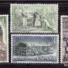 Sellos: 1962 EDIFIL 1444/47** NUEVOS SIN CHARNELA. EL CID. Lote 206923641