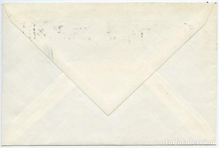 Sellos: Carta con sello de Bélgica matasellado por error en Barcelona 1973 - Foto 2 - 166619922