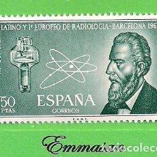 Timbres: EDIFIL 1790. CONGRESO LATINO Y I EURO-PEO DE RADIOLOGÍA EN BARCELONA. (1967).** NUEVO SIN FIJASELLOS. Lote 167113968