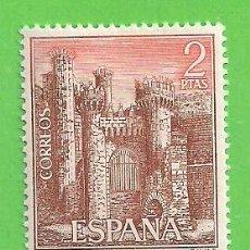 Selos: EDIFIL 1812. CASTILLOS DE ESPAÑA - PONFERRADA, LEÓN. (1967).** NUEVO SIN FIJASELLOS.. Lote 167120344