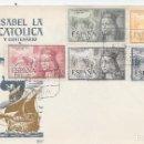 Sellos: ISABEL LA CATOLICA. EMISION AEEREA EDIFIL 1097-1101. Lote 169083844