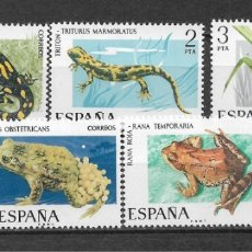 Sellos: ESPAÑA 1975 ** NUEVO EDIFIL 2272/2276 - 6/12. Lote 169205084