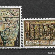 Sellos: ESPAÑA 1973 ** NUEVO EDIFIL 2162/2163 - 6/12. Lote 169205296