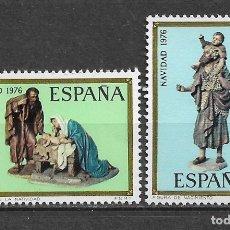 Sellos: ESPAÑA 1976 ** NUEVO EDIFIL 2368/2369 - 6/12. Lote 169205656