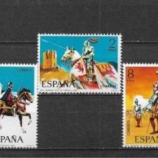 Sellos: ESPAÑA 1973 ** NUEVO EDIFIL 2139/2143 - 6/12. Lote 169206356