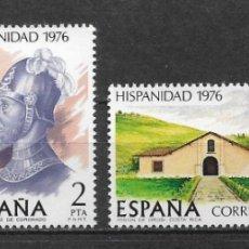 Sellos: ESPAÑA 1976 ** NUEVO EDIFIL 2371/2374 - 6/12. Lote 169209704