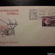 Sellos: ESPAÑA. EDIFIL 2292 SERIE COMPLETA. SOBRE DE PRIMER DÍA. INDUSTRIALIZACIÓN ESPAÑOLA. 1975.. Lote 169245440