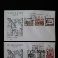 Sellos: ESPAÑA. EDIFIL 2266/71 SERIE COMPLETA. SOBRE DE PRIMER DÍA. PAISAJES Y MONUMENTOS. 1975.. Lote 169330818