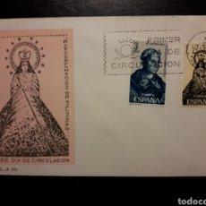 Sellos: ESPAÑA. EDIFIL 1693/4 SOBRE DE PRIMER DÍA. EVANGELIZACIÓN DE FILIPINAS. 1965.. Lote 169617608