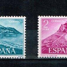 Sellos: ESPAÑA 1969 - EDIFIL 1933/1934** - PRO TRABAJADORES ESPAÑOLES DE GIBRALTAR. Lote 170032464