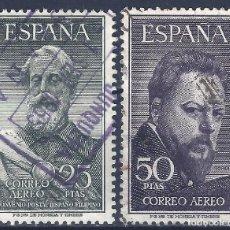 Sellos: EDIFIL 1124-1125 LEGAZPI Y SOROLLA 1953 (SERIE COMPLETA). CENTRADO DE LUJO. VALOR CATÁLOGO: 116 €.. Lote 170083608