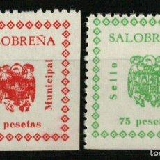 Francobolli: SALOBREÑA (GRANADA). SELLO MUNICIPAL. 2 VALORES DE LA SERIE. Lote 170146717