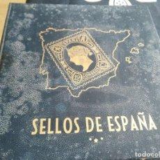 Sellos: ALBUM DE SELLOS CON 268 USADOS 1950 -1981. Lote 170425192