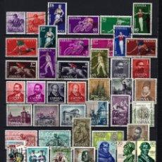 Sellos: LOTE DE SELLOS ESPAÑA 1960-1964 - 20 SERIES COMPLETAS . Lote 171050774