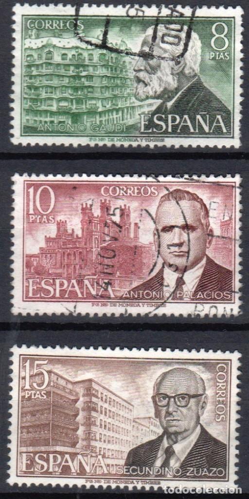 ESPAÑA - 1 SERIE (3 VALORES) - EDIFIL 2241-43 - ***PERSONAJES ESPAÑOLES*** - AÑO 1975 - USADOS (Sellos - España - II Centenario De 1.950 a 1.975 - Usados)