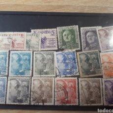 Sellos: SELLOS USADOS AÑO 1949 /1953 LOT.N.453. Lote 171268208