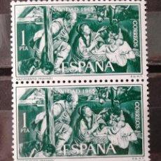 Sellos: 1692, DOS SERIES NUEVAS, SIN CH.; EN PAREJA. NAVIDAD.. Lote 171348225