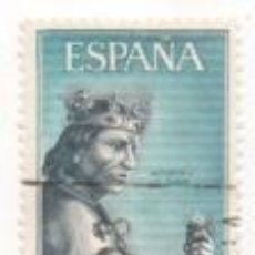 Sellos: SELLO 70 CTS. 1965 SERIE PERSONAJES ALFONSO X EL SABIO CIRCULADO. Lote 171357134