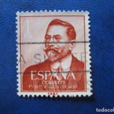 Sellos: 1961 JUAN VAZQUEZ DE MELLA, EDIFIL 1351. Lote 171596537