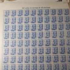 Sellos: 100 SELLOS FRANCO AÑO 1952 EDIF 1052. Lote 172585773