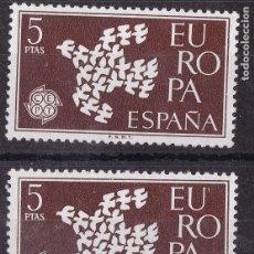 Sellos: CC1- EUROPA PALOMAS 5 PTAS . VARIEDAD EU´ROPA ** SIN FIJASELLOS. Lote 172611718