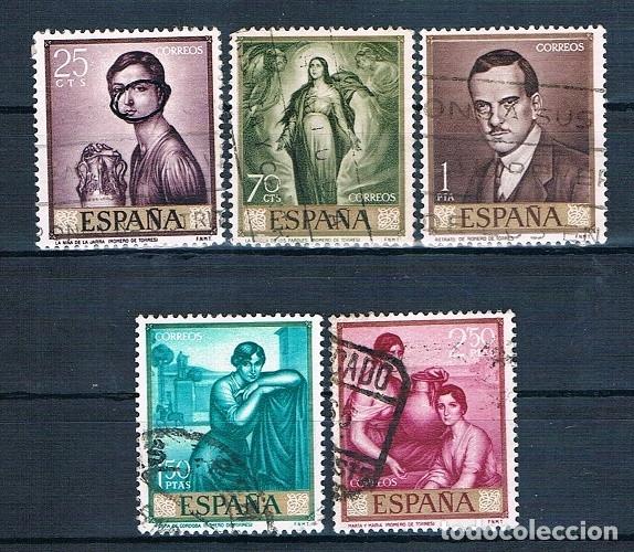 Sellos: ESPAÑA PINTORES USADOS 7 FOTOGRAFÍAS - Foto 2 - 172659137