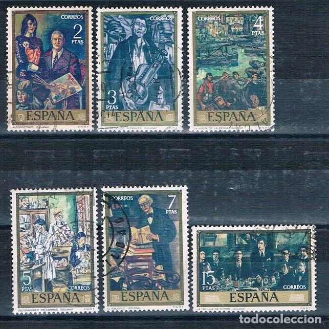 Sellos: ESPAÑA PINTORES USADOS 7 FOTOGRAFÍAS - Foto 3 - 172659137