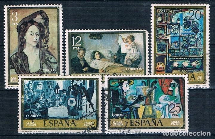 Sellos: ESPAÑA PINTORES USADOS 7 FOTOGRAFÍAS - Foto 7 - 172659137