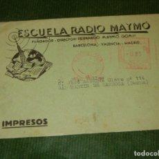 Sellos: FRANQUEO MECANICO 239 ESCUELA RADIO MAYMO 1960 - ENVIO FOLLETO OFERTA VERANO. Lote 173002669