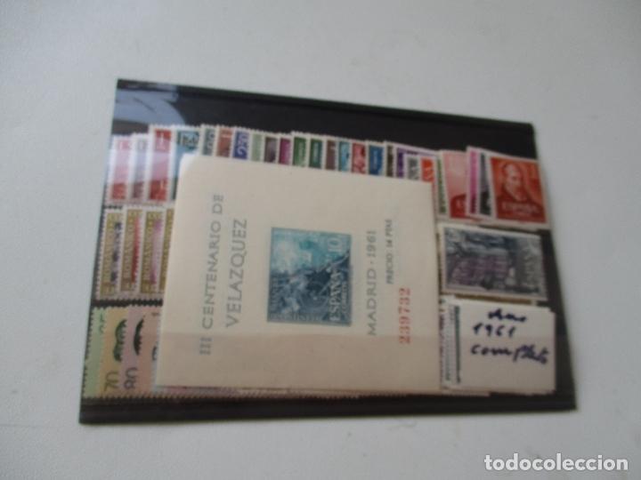 SELLOS AÑO 1961 COMPLETO, (Sellos - España - II Centenario De 1.950 a 1.975 - Nuevos)