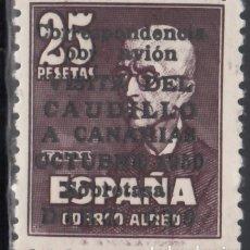 Sellos: ESPAÑA, 1950 EDIFIL Nº 1083, VISITA DEL CAUDILLO A CANARIAS, CERTIFICADO COMEX. . Lote 173016467