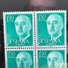 Sellos: SELLOS ESPAÑA 1955 GENERAL FRANCO EDIFIL 1155 B4 MNH**. Lote 173090403